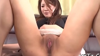 Stud bangs an ultra sexy asian beauty with lovely boobs