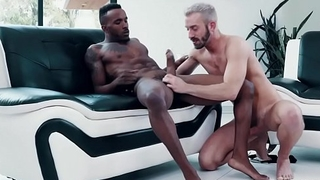 Black with the addition of white gay swimsuit models fuck