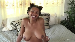 Interview with Hairy Ebony Babe Oya