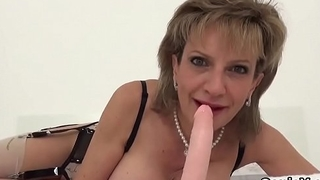 Unfaithful british milf gill ellis exposes her immense titties