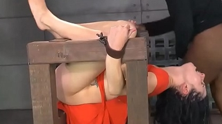 Teen tied and punished by two guys!!! -Punishland.com