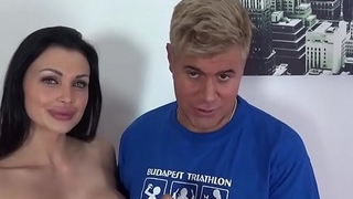 Aletta Ocean has a naughty threesome