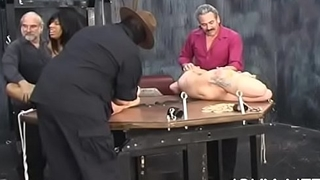 Naked doll amazing fetish bondage sex scenes with grandad
