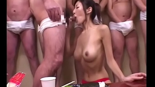 Cum And Sushi for 18 year old Japanese Teen