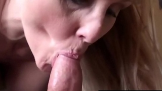 Busty Milf Julia Ann Wraps Her Luscious Lips On A Hard Cock!