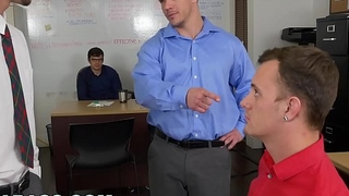 GRAB ASS - This Scummy Boss Treats His Employees Like Play Things