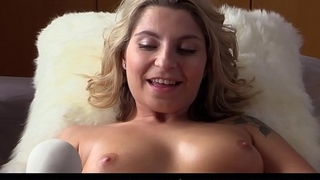 QUEST Be worthwhile for ORGASM - Czech babe Kattie Hill fingers and masturbates with vibrator