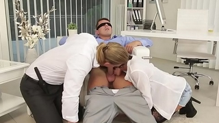 Bisex birthday party - Anabelle, Nick Gill and Mark Dark