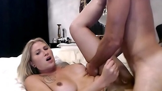 Blonde Trap Tit And Ass Fucked Indestructible