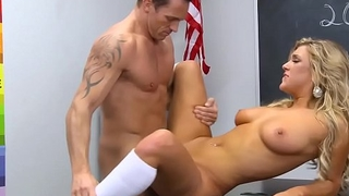 College slut takes cock