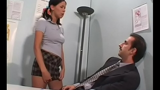 Sweltering dilettante gives hot pov blowjob and gets drilled