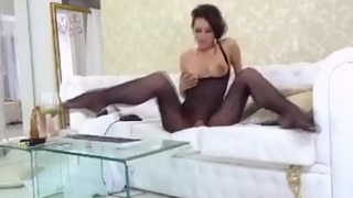 Euro MILF Pleasures Self