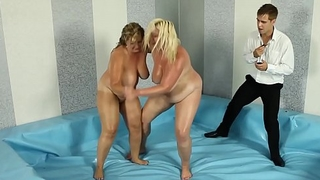 Curvy MILF fucked by wrestling make up one's mind