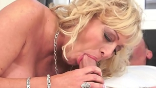 Bigtits gilf pounded by say no to younger bf