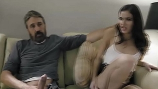 Teen daughter Emily Willis gets spanked and punished by her dad Steve Holmes