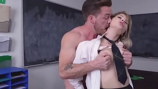 College babe cheats and then gets fucked